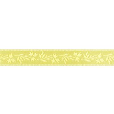 Recién llegado: nobles cintas de satén con zarcillos de flores