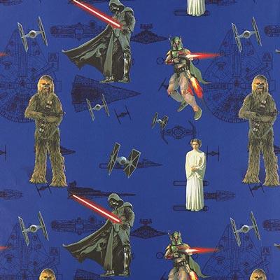 Star Wars dekostof De macht – lila