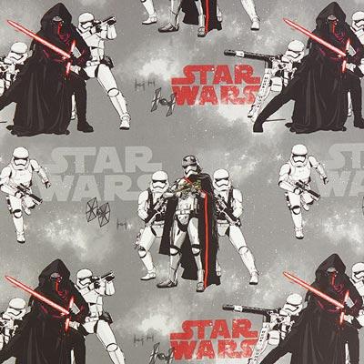 Star Wars dekostof Kylo Ren – grijs