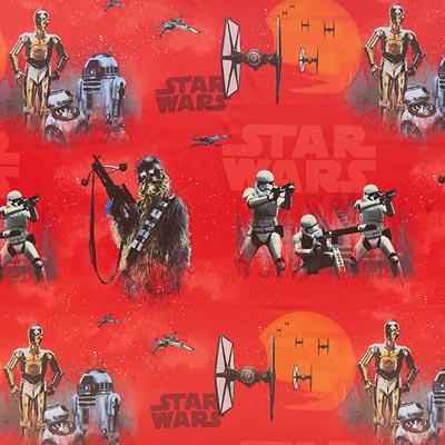 Star Wars verduisteringsstof Stormtrooper – rood