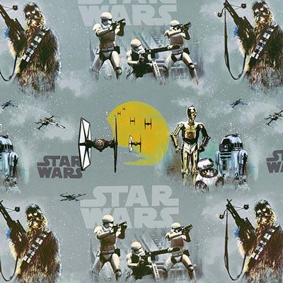 Star Wars verduisteringsstof Stormtrooper – grijs
