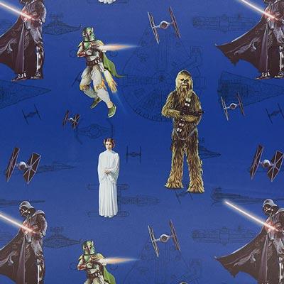 Star Wars verduisteringsstof De macht – lila
