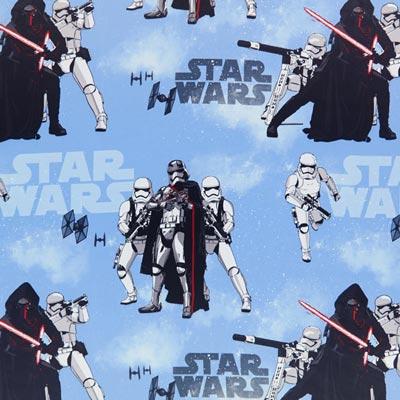 Star Wars verduisteringsstof Kylo Ren – lichtblauw