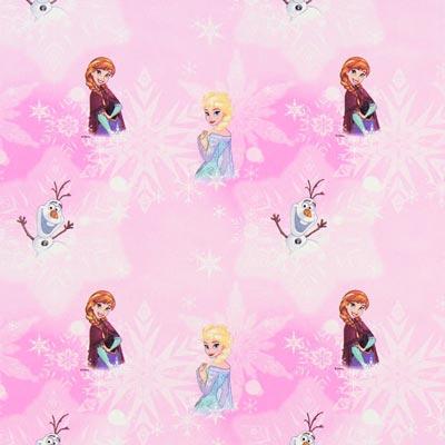 Cretonne Frozen – roze