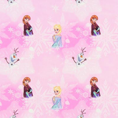 Frozen Disney Cretonne – pink
