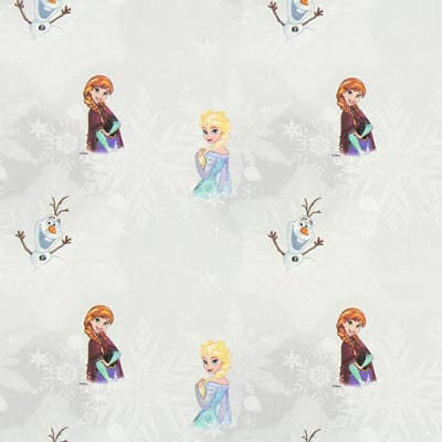 Cretonne Frozen – zijdegrijs