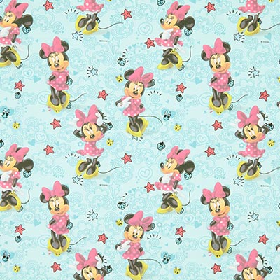 Disney Minnie Mouse Cotton 2 – blue