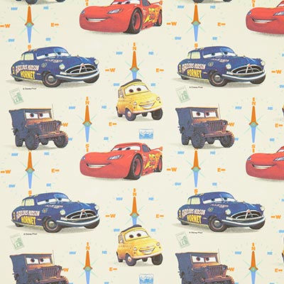 Disney Cars Cotton 1 – offwhite