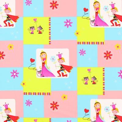 Tela decorativa, Príncipe y princesa