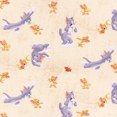 Cretonne  Tom & Jerry 3 – beige