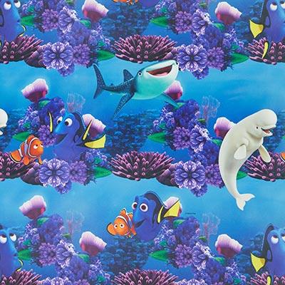 Verduisteringsstof Finding Nemo – blauw