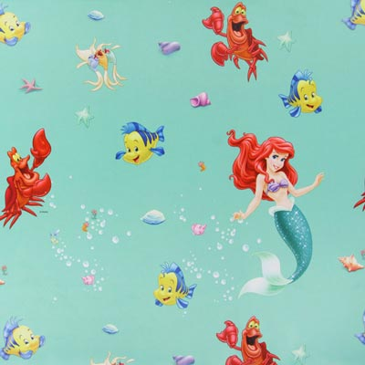 Blackout Fabric Disney's The Little Mermaid 3