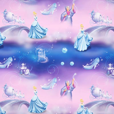 Disney Cinderella Blackout Fabric – mauve
