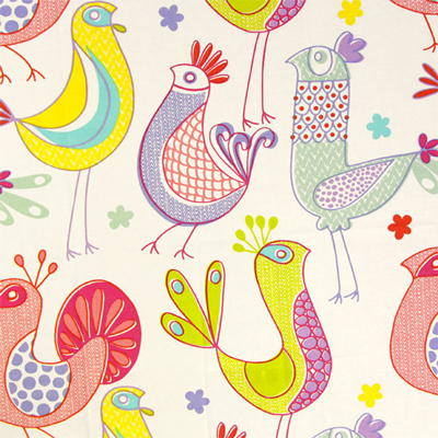New decoration fabrics with animal designs have arrived