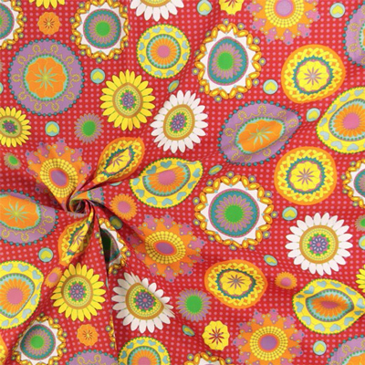 100% Retro: neue Dekostoffe in Blumenoptik