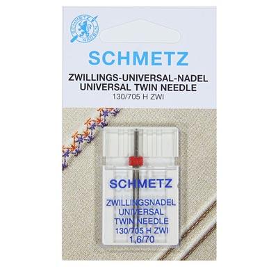 SCHMETZ – Zwillings-Universal-Nadel NM 1,6/70