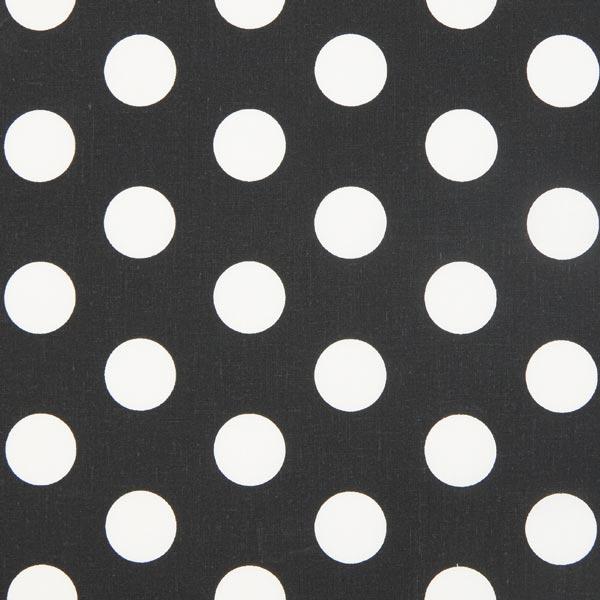 gepunktete dekostoffe schwarz bei. Black Bedroom Furniture Sets. Home Design Ideas