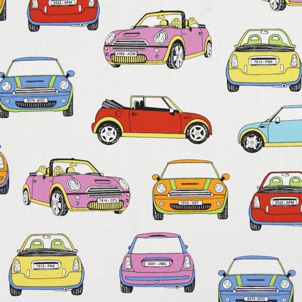 Tessuti Arredo Con Fantasia Di Pulmini Volkswagen E Mini