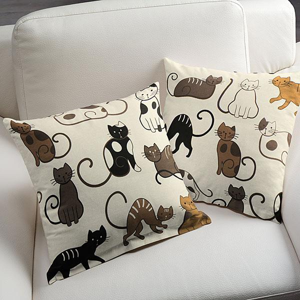 katzenmotiv. Black Bedroom Furniture Sets. Home Design Ideas