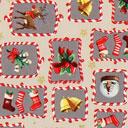 Cretonne Rudolph e i dolcetti – beige
