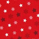 Cretonne Canzoncina di Natale – rosso