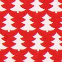 Cretonne Oh Tannebaum – rosso