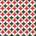Cretonne Stampa natalizia – rosso