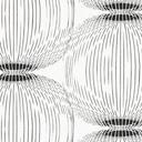 ARVIDSSONS TEXTIL – Fuji – bianco/nero