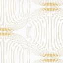 ARVIDSSONS TEXTIL – Fuji – bianco/oro