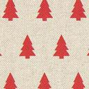 Tessuto natalizio Abete rosso – beige