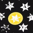 Tela de jersey Stars Stamps 1