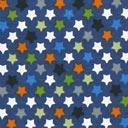 Tela de jersey Estrellas del bosque 4