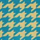 Samt Hahnentritt – hellblau