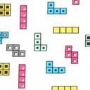 Popelina Colour Blocks