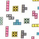 Tela de jersey Colour Blocks