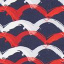 Tela de jersey Ondas – azul marino