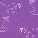 Popelina Dino – lila