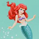Blackout Ariel Disney 3