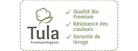 Nos tissus bio Tula Premium chez tissus.net