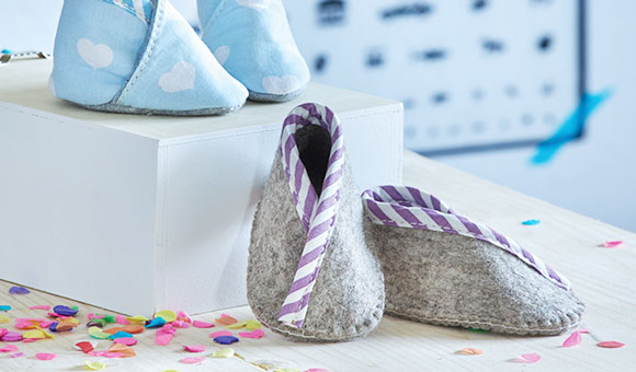 finest selection 3c1ee b3242 Baby Schuhe nähen - online kaufen » Stoffe.de