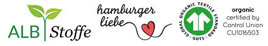 Tissus de la marque Albstoffe/ Hamburger Liebe