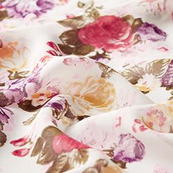 a6698f666a340 Chiffon Rosenbouquet – wollweiss rosa