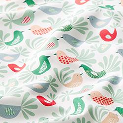 a1ab92e6c83 Cotton Poplin Birds | Petit Citron – peppermint