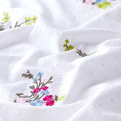 b2e5e84513 Tela para blusas Batista Jersey Bordado Dobby – rosa azul claro