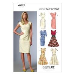 Kleid a linie nahen