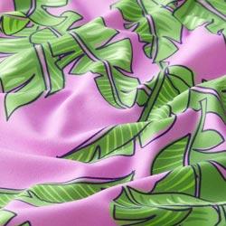 0746436eda5b29 Badpakstof At the Beach palmblad – pastelviolet/groen | Hamburger Liebe