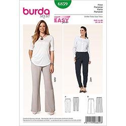 Plus Size Klänning, Burda 6549 Mönster Plus Size tyg.se