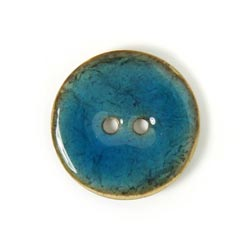 23 mm 24 wooden buttons in blue colour 78
