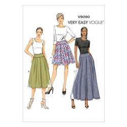 Mönster veckade kjolar handla online » tyg.se