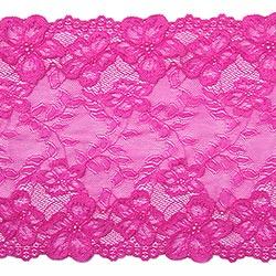 f1c02a7052 pizzo elastico Hera [220 mm] - rosa fucsia